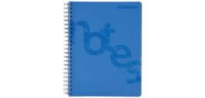 Collegeblock PP Cover A4 kariert blau DONAU 7525201-10 140BL 80g Produktbild