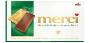Schokolade Mandel-Milch 100g MERCI 140026 Produktbild