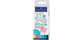 6 Tuschestifte pastell Produktbild