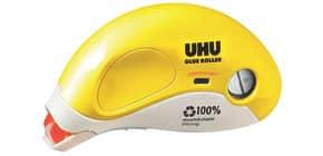 Kleberoller nachfüllbar permanent gelb/w UHU 35415 8,4mm x16,5m Produktbild