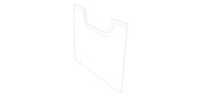 Deckplatte A4quer glasklar EXACOMPTA 64058D Deckplatte Produktbild