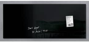 Magnettafel 130x55cm schwarz SIGEL GL240 artverumXL Produktbild