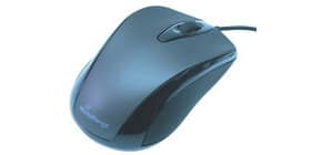 Maus optisch schwarz MEDIARAN. MROS201 OfficeHome Produktbild
