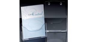 Prospektständer A4hoch transpa SIGEL LH110 Tisch Acry Produktbild