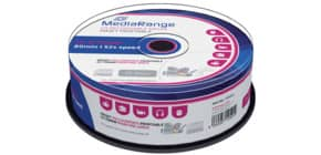 CD-R 25er Spindel printable MEDIA RANGE MR202 700Mb 80min Produktbild