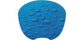 Mousepad Regentropfen blau Q-CONNECT KF04559 Produktbild