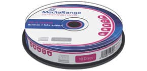 CD-R 10er Spindel MEDIA RANGE MR214 700Mb 80min Produktbild