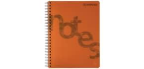 Collegeblock PP Cover A4 kariert orange DONAU 7525201-12 140BL 80g Produktbild