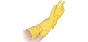 Gummihandschuhe per PAAR gelb HYGOSTAR 25908 XL extralarge Produktbild