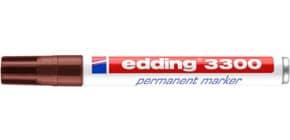 Permanentmarker 1-5mm  braun EDDING 3300-007 Produktbild