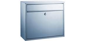 Briefkasten silber ALCO 8601 36x31x15cm Produktbild