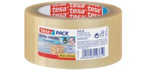 Packband 50mmx66m transparent TESA 57176 - Ultra strong Produktbild