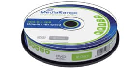 DVD-R 10er Spindel MEDIA RANGE MR452 4,7Gb120mi Produktbild