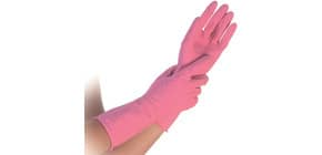 Gummihandschuhe per PAAR pink HYGOSTAR 25965 S small Produktbild