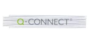 Zollstock B400 2m weiß Q-CONNECT 4.002.001 Produktbild