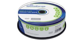DVD-R 25er Spindel MEDIA RANGE MR403 4,7Gb120mi Produktbild