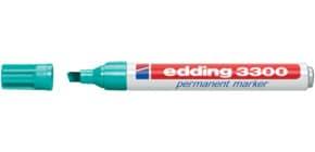 Permanentmarker 1-5mm türkis EDDING 3300-014 Produktbild
