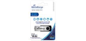 USB Stick 2,0 8GB high speed MEDIARANGE MR908/MR971 Produktbild