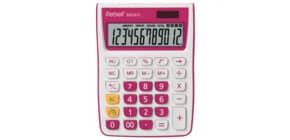 Tischrechner weiß/rosa REBELL RE-SDC912PK BX Produktbild