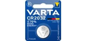 Knopfzellen-Batterie CR2032 silber VARTA 06032 101 401 276882 Produktbild