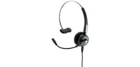 Headset Mono schwarz MEDIARANGE MROS305 Produktbild