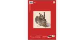 Zeichenblatt A4 20BL lose Edition DÜRER 055450 130g gekörnt Produktbild