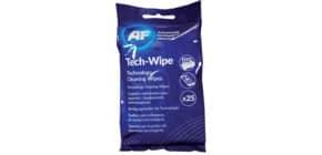 Reinigungstuch Tech Wipes 25ST feucht AF MTW025P Produktbild