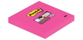 Haftnotizblock 76x76mm ultrapink POST-IT 654SPI 90Bl SupSticky Produktbild