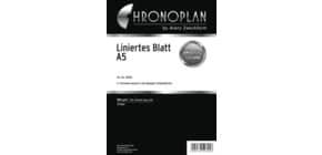 Notizblock liniert A5 50 Blatt CHRONOPLAN 50305 Produktbild