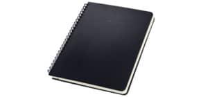 Collegeblock ca.A5 kariert schwarz CONCEPTUM CO822 o.Reg. Hardcover Produktbild