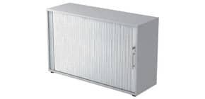 Rollladenschrank 2OH 120cm grau/silber HAMMERBACHER V1732S/5/S/RE Produktbild