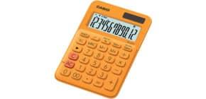 Tischrechner 12-stellig orange CASIO MS-20UC-RG Produktbild