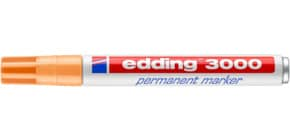 Permanentmarker hellorange EDDING 3000-016   M Produktbild