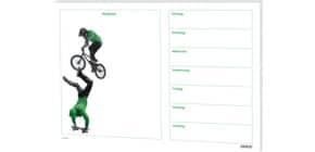 Schreibunterlage 60x42cm RNK 46610 Jump! Skater & BMX Produktbild