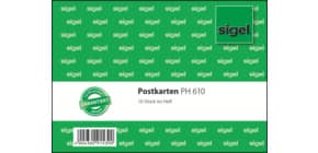 Postkarten Heft A6 quer, 10 Blatt SIGEL PH610 Produktbild