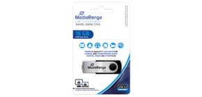 USB Stick 2,0 high speed MEDIA RANGE MR910 16Gb Produktbild