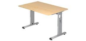 Schreibtisch 120x80cm ahorn HAMMERBACHER VOS12/3 Produktbild