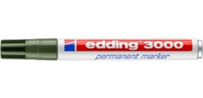 Permanentmarker 3000 1,5-3m hellgrün EDDING 3000-011 Rundspitze nachfüllbar Produktbild