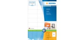 Universaletiketten 70x32 weiß HERMA 4450 A4, 100 Blatt Produktbild