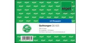 Quittung A6/2x50BL SIGEL QU625 Produktbild