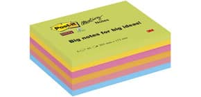 Haftnotizblock Big Notes 6ST neon POST-IT 8645-6SS-EU 152x203mm Produktbild
