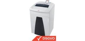 Aktenvernichter Securio P36i weiß HSM 1853121C 4,5x30mm Produktbild