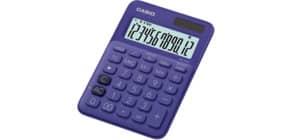 Tischrechner 12-stellig lila CASIO MS-20UC-PL Produktbild