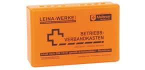 Verbandkasten mit Inhalt orange LEINA-WERKE 20003 DIN 13157 Produktbild