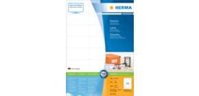 Universaletiketten 70x37mm weiß HERMA 4615 4800 Stück permanent haftend Produktbild