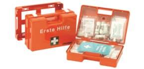 Verbandkasten Koffer orange LEINA-WERKE 21035 DIN 13169 Produktbild