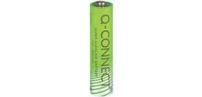 Batterie AAA/LR03 4ST grün Q-CONNECT KF00488 Micro Produktbild