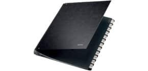 Pultordner Karton 1-12 schwarz LEITZ 5812-00-95 Produktbild