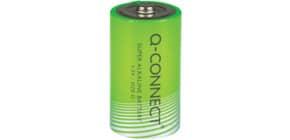 Batterie D/LR20 2ST grün Q-CONNECT KF00491 Mono Produktbild