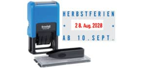 Datumselbstfärber Typo Printy blau/schw TRODAT 4750/DB/TYPO Produktbild